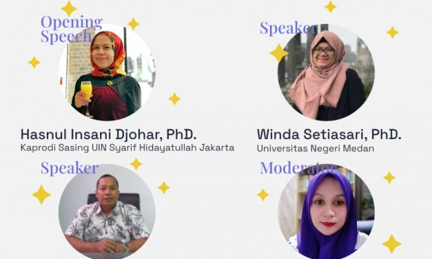"""ELD FAH Presented Online Workshop """"Creative Writing for Writing a Thesis"""""""